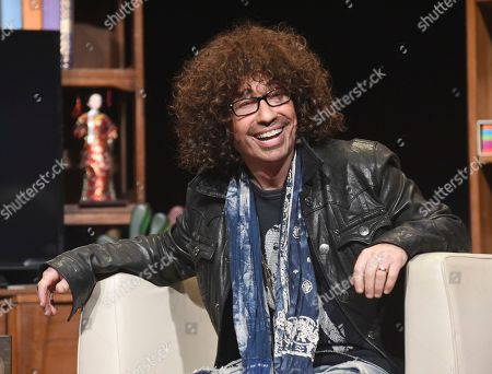 Mike Darnell engages in a lively discussion during the Television Academy's member event, Mike Darnell: Reality TV's Great Provocateur, in the Wolf Theatre at the Saban Media Center in North Hollywood, Calif