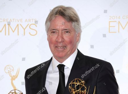 Alan Silvestri poses in the press room at the 2014 Creative Arts Emmys at Nokia Theatre L.A. LIVE in Los Angeles. Silvestri will be honored with the BMI Icon Award next month in Beverly Hills, Calif