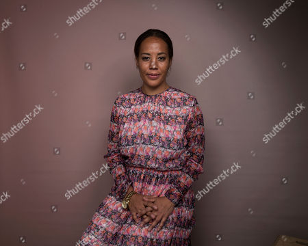 """Stock Image of Writer/director Maggie Betts poses for a portrait to promote the film, """"Novitiate"""", at the Music Lodge during the Sundance Film Festival, in Park City, Utah"""