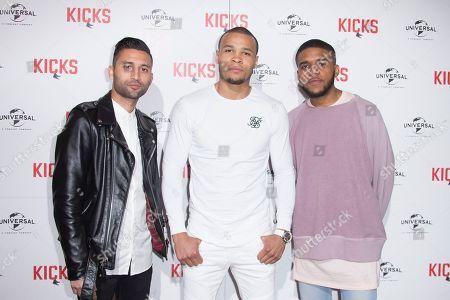 Editorial photo of Britain Kicks Premiere, London, United Kingdom - 16 May 2017