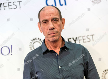 Actor Miguel Ferrer at the at 2015 PaleyFest Fall TV Previews at The Paley Center for Media in Beverly Hills, Calif. Ferrer, who brought stern authority to his featured role on CBSâ?™ hit drama â?oeNCIS: Los Angelesâ?? and, before that, to â?oeCrossing Jordan,â?? died, of cancer at his Los Angeles home. He was 61