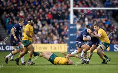 Editorial photo of Scotland v Australia, 2017 Autumn Tests match, Murrayfield, Edinburgh, UK - 25 November 2017