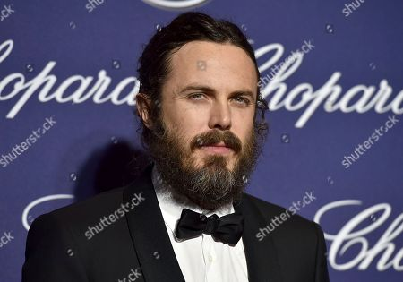 Casey Affleck arrives at the 28th annual Palm Springs International Film Festival Awards Gala in Palm Springs, Calif. An annual international film festival in the western Czech spa town of Karlovy Vary is kicking off with awards for Oscar-nominated actress Uma Thurman, Academy Award winner Casey Affleck and film composer James Newton Howard on Friday, June 30, 2017
