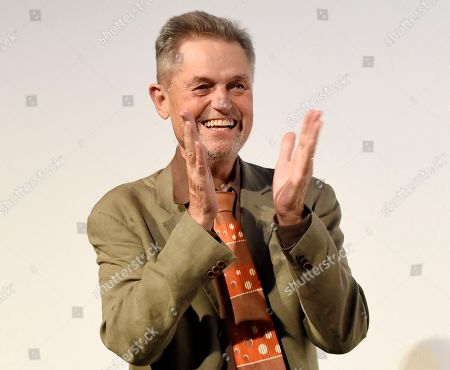"""Jonathan Demme, director of the concert film """"Justin Timberlake + The Tennessee Kids,"""" appears at the premiere at the Toronto International Film Festival in Toronto. Demme died, of complications from esophageal cancer in New York. He was 73"""