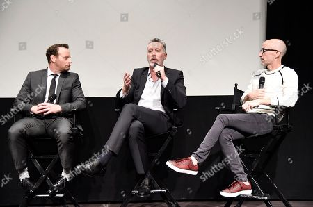 """Larry Dorf, Michael McDonald and Jim Rash seen at TV Land's """"Nobodies"""" FYC Panel at The London Hotel, in Los Angeles, CA"""