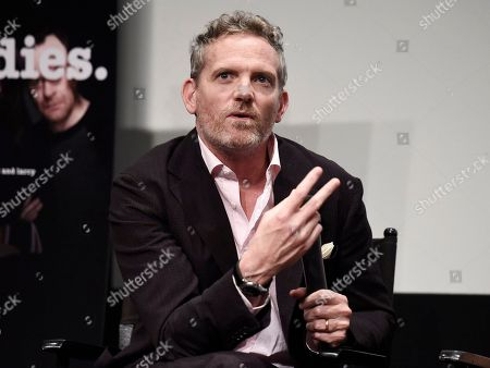 """Hugh Davidson seen at TV Land's """"Nobodies"""" FYC Panel at The London Hotel, in Los Angeles, CA"""