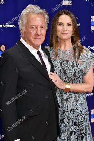 Dustin Hoffman, Lisa Hoffman