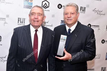 Al Gore, Dan Rather