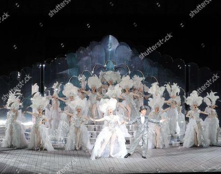 Editorial picture of 'Singin in the Rain' Musical, Paris, France - 25 Nov 2017
