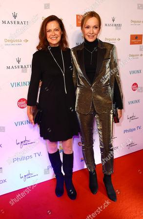 Angela Reu and Katja Flint