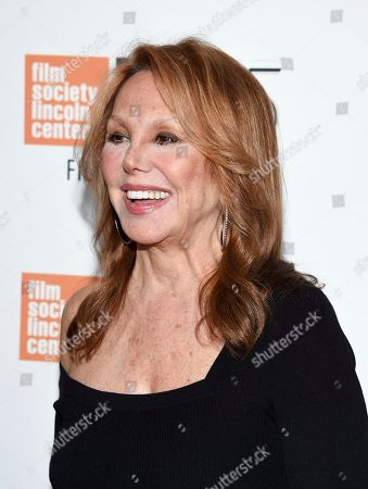 """Marlo Thomas attends the world premiere of """"Spielberg"""", during the 55th New York Film Festival, at Alice Tully Hall, in New York"""