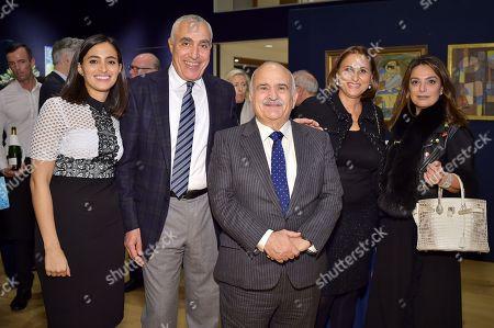 Poor Soussi, Mousadek Soussi, HRH Prince Hassan bin Talal of Jordan, Sara Ameri and Shiva Abedinzadeh