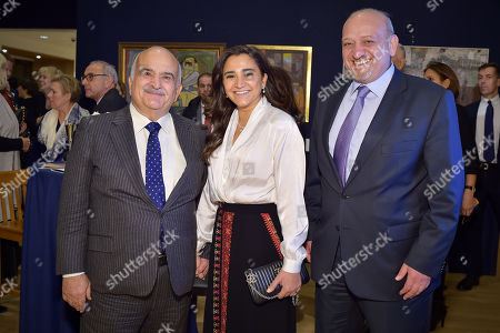 HRH Prince Hassan bin Talal of Jordan, Hibar Al-Nahar and H. E. Omar Al-Nahar