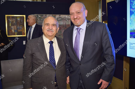 HRH Prince Hassan bin Talal of Jordan and H. E. Omar Al-Nahar