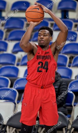 Ohio State forward Andre Wesson during the second half of an NCAA college basketball game in the Phil Knight Invitational tournament in Portland, Ore