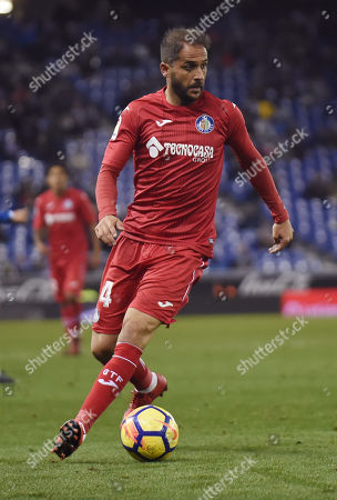 Editorial image of RCD Espanyol v Getafe CF. LaLiga 2017-2018, date 13, RCDE stadium, Barcelona, Spain - 27 November 2017