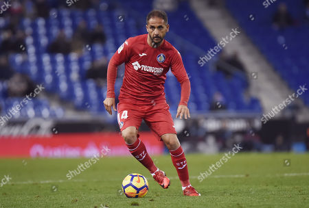 Stock Image of Sergio Mora of Getafe CF