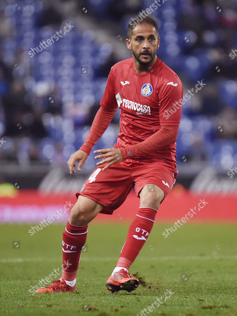 Stock Photo of Sergio Mora of Getafe CF
