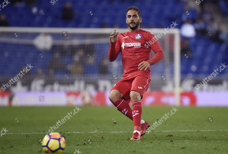 Editorial picture of RCD Espanyol v Getafe CF. LaLiga 2017-2018, date 13, RCDE stadium, Barcelona, Spain - 27 November 2017