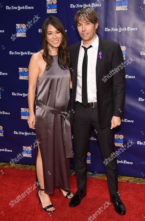 Samantha Quan, Sean Baker. Samantha Quan, left, and Sean Baker arrive at the 27th annual Independent Film Project's Gotham Awards at Cipriani Wall Street, in New York