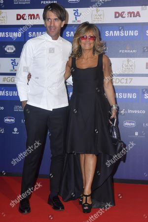 Davide Oldani with Manuela Ronchi