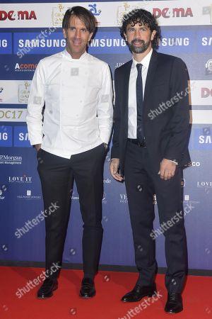 Davide Oldani and Damiano Tommasi