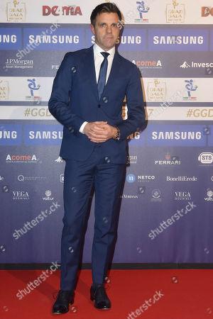 Editorial picture of Gran Gala del Calcio, Arrivals, Milan, Italy - 27 Nov 2017