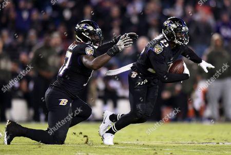 Editorial photo of Texans Ravens Football, Baltimore, USA - 27 Nov 2017