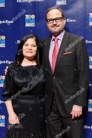 Stock Photo of Bonni Cohen and Richard Berge