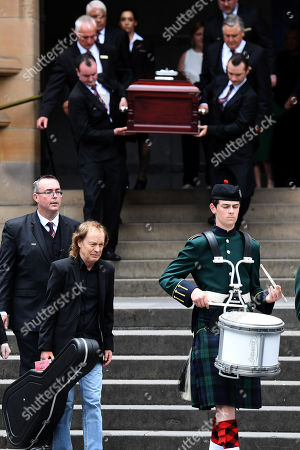Editorial picture of Funeral for late AC/DC guitarist Malcolm Young in Sydney, Australia - 28 Nov 2017