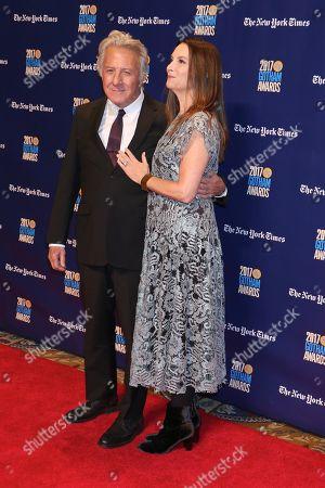 Stock Picture of Dustin Hoffman and Lisa Gottsegen