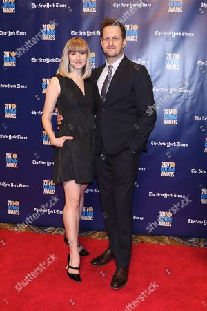 Stock Picture of Sophie Flack and Josh Charles