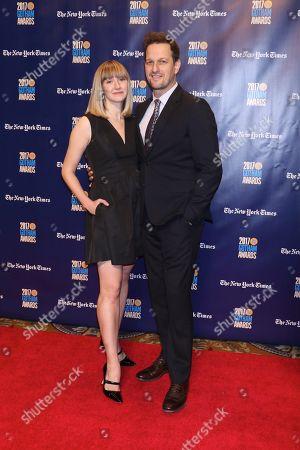Sophie Flack and Josh Charles