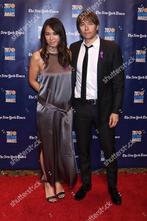 Sean Baker (R) and Samantha Quan (L)