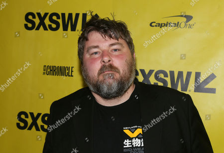 """Director Ben Wheatley arrives for the U.S. premiere of """"Free Fire"""" at the Paramount Theatre during the South by Southwest Film Festival, in Austin, Texas"""