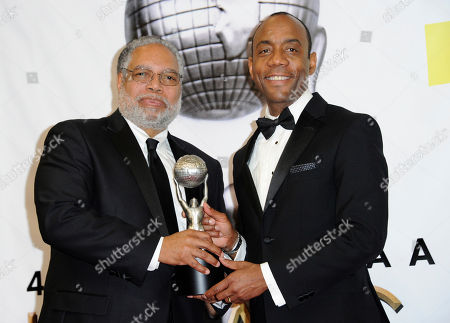 Editorial photo of APTOPIX 48th Annual NAACP Image Awards - Press Room, Pasadena, USA - 11 Feb 2017