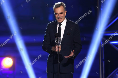 """Daniel Day-Lewis accepts the award for best actor for """"Lincoln"""" at the 18th Annual Critics' Choice Movie Awards at the Barker Hangar, in Santa Monica, Calif. Day-Lewisâ?™s representative, Leslee Dart, said in a statement Tuesday, June 20, 2017, that the 60-year-old performer â?oewill no longer be working as an actor.â?? She added that Day-Lewis is â?oeimmensely grateful to all of his collaborators and audiences over the many years.â"""