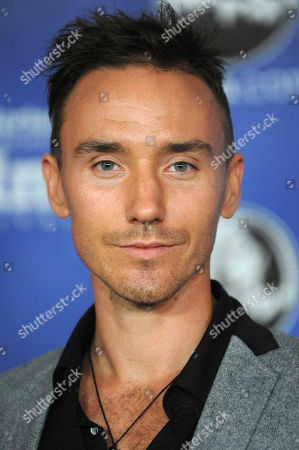 Canadian filmmaker Rob Stewart at the Modern Master Award Ceremony at the Santa Barbara International Film Festival in Santa Barbara, Calif. The family of Stewart, who died during a shark filming excursion in the Florida Keys has filed a wrongful death lawsuit. The lawsuit blames negligence on the companies and individuals who organized the January dive that resulted in Stewart's death