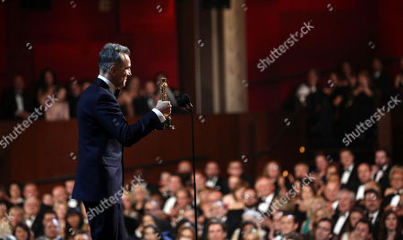 """Daniel Day-Lewis accepts the award for best actor for his role in """"Lincoln"""" at the Oscars at the Dolby Theatre in Los Angeles. Day-Lewisâ?™s representative, Leslee Dart, said in a statement, that the 60-year-old performer â?oewill no longer be working as an actor.â?? She added that Day-Lewis is â?oeimmensely grateful to all of his collaborators and audiences over the many years.â"""