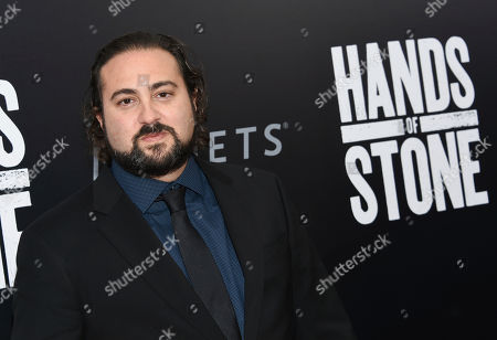 """Director and screenwriter Jonathan Jakubowicz attends the U.S. premiere of """"Hands of Stone"""" at the SVA Theatre in New York. Jesse Eisenberg will play Marcel Marceau in â?œResistance,â?? a film written and directed by Jakubowicz that focuses on the legendary mimeâ?™s involvement in the French resistance during World War II. â?œThe story of Marceau and the resistance is one of the most striking secrets of World War II,â?? Jakubowicz told the Associated Press, in an email from Cannes. â?œFrom the biggest horror rises the most elevated art to save the lives of orphan children. I knew I had to do even the impossible to tell this the very moment I heard of it.â"""