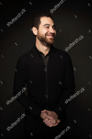 "Paul Raphael poses for a portrait to promote the film, ""Miyubi"", at the Music Lodge during the Sundance Film Festival, in Park City, Utah"