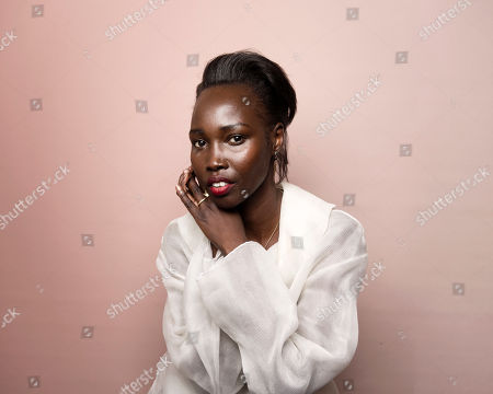 """Stock Image of Actress Mari Malek poses for a portrait to promote the film, """"The Nile Hilton Incident,"""" at the Music Lodge during the Sundance Film Festival, in Park City, Utah"""