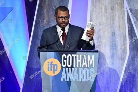 Editorial picture of APTOPIX 27th Annual IFP Gotham Awards - Show, New York, USA - 27 Nov 2017