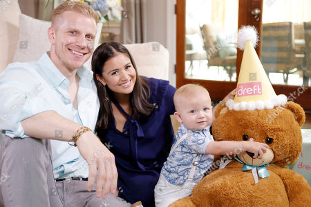 In this image released, Sean and Catherine Lowe, Popular reality TV couple and Dreft brand ambassadors began celebrations for their son Samuel's first birthday at their home in Dallas. The couple partnered with Dreft, the #1 pediatrician-recommended baby detergent brand, throughout Samuel's first year to share some of their most memorable parenting moments on @Dreft's social channels. Visit Dreft.com or follow @Dreft on Facebook, Twitter and Instagram for more information