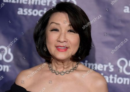 "Connie Chung attends the 24th Annual ""A Night at Sardi's"" held at the Beverly Hilton Hotel in Beverly Hills, Calif. New Jersey's Hall of Fame honored its newest members including Camden County native Kelly Ripa, actor Ray Liotta of Newark and Middletown resident Chung on Sunday, May 7, 2017"