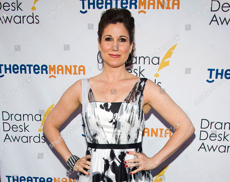 Stephanie J. Block attends the Drama Desk Awards in New York. Block, Mandy Gonzalez, Mario Cantone, Robert Creighton and Randy Graff will lend their voices to the fight against the lung-scarring disease pulmonary fibrosis. The seventh annual concert Broadway Belts for PFF! will be held on Feb. 27, 2017 at the Edison Ballroom in Manhattan