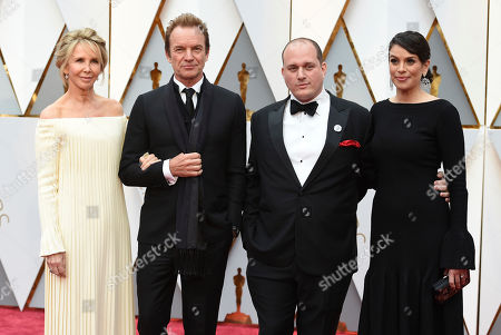Editorial image of 89th Academy Awards - Arrivals, Los Angeles, USA - 26 Feb 2017