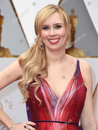 Allison Schroeder arrives at the Oscars, at the Dolby Theatre in Los Angeles