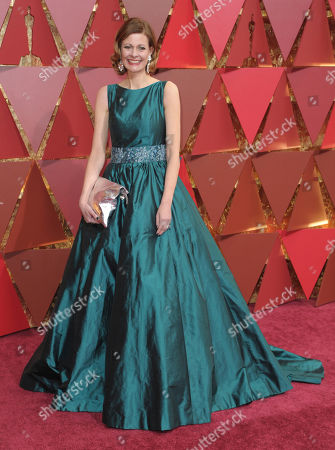 Eva von Bahr arrives at the Oscars, at the Dolby Theatre in Los Angeles