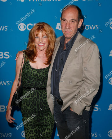 Lori Weintraub, left, and actor Miguel Ferrer at the CBS 2012 Fall Premiere Party in West Hollywood, Calif. Ferrer, who brought stern authority to his featured role on CBSâ?™ hit drama â?œNCIS: Los Angelesâ?? and, before that, to â?œCrossing Jordan,â?? died, of cancer at his Los Angeles home. He was 61